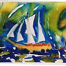 Sailingboat by prema
