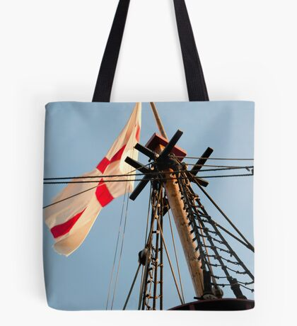 The Crow's Nest: Golden Hinde, London Tote Bag