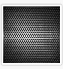 dotted metal background Sticker