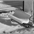 BANC sous la neige by lilifrog