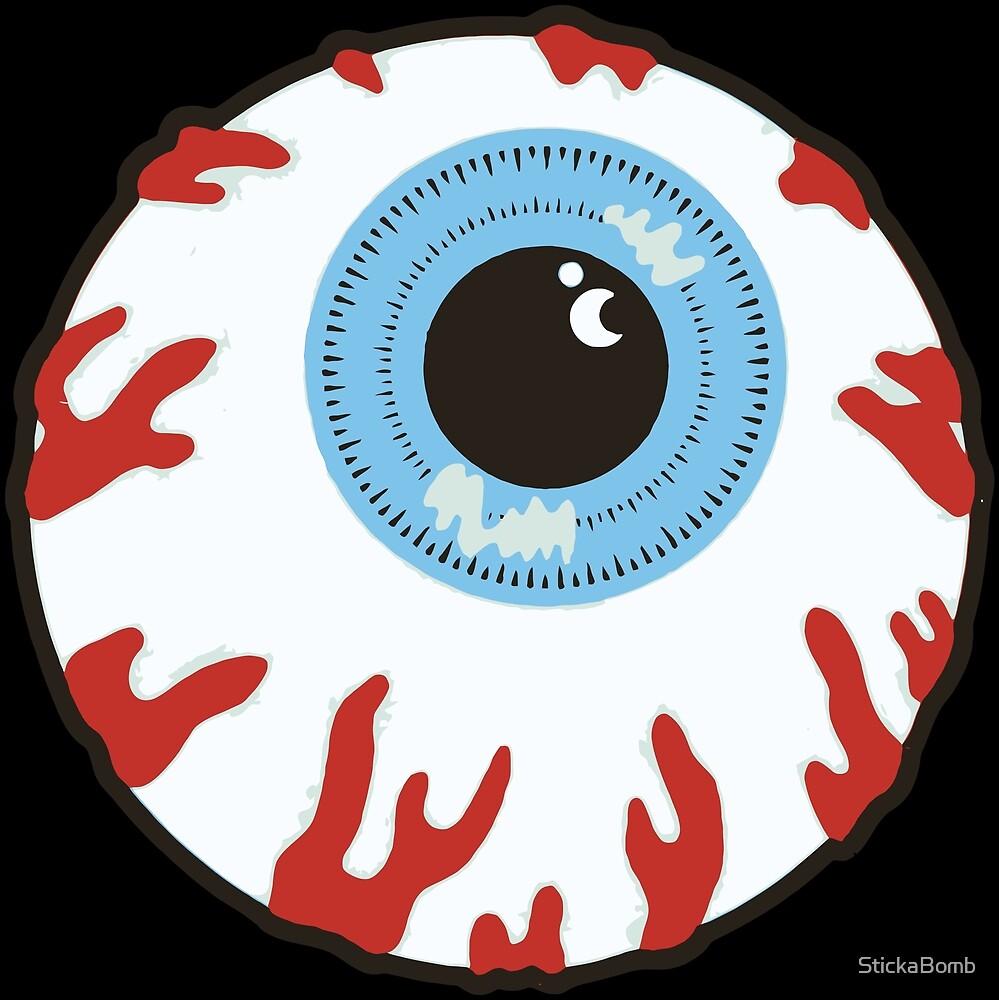 Mishka Eyeball by StickaBomb