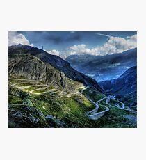 Gotthard Elbows Photographic Print
