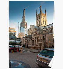 Half-Way-There: The Shard, Lambeth, London. Poster