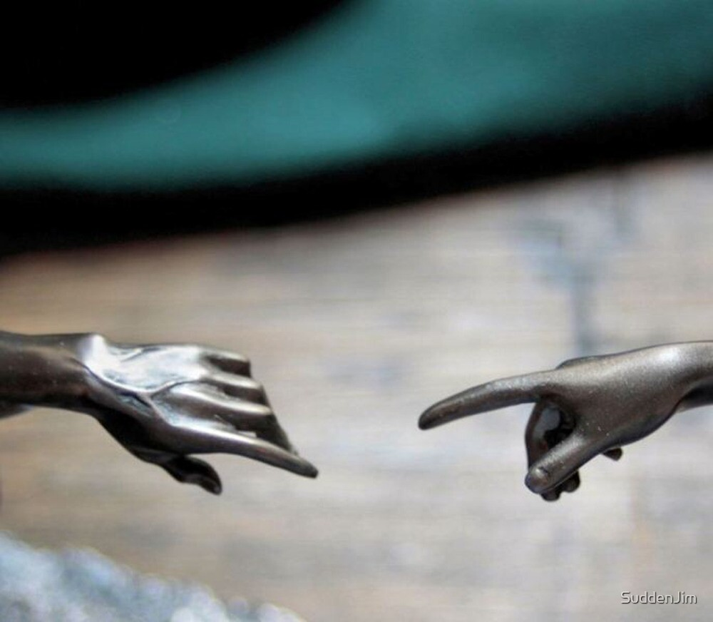 The Creation Sculpture by SuddenJim
