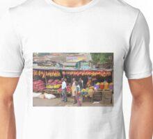 Street fruit market near Maungu, KENYA Unisex T-Shirt