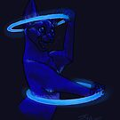 Glowstick Abyssinian by Fable
