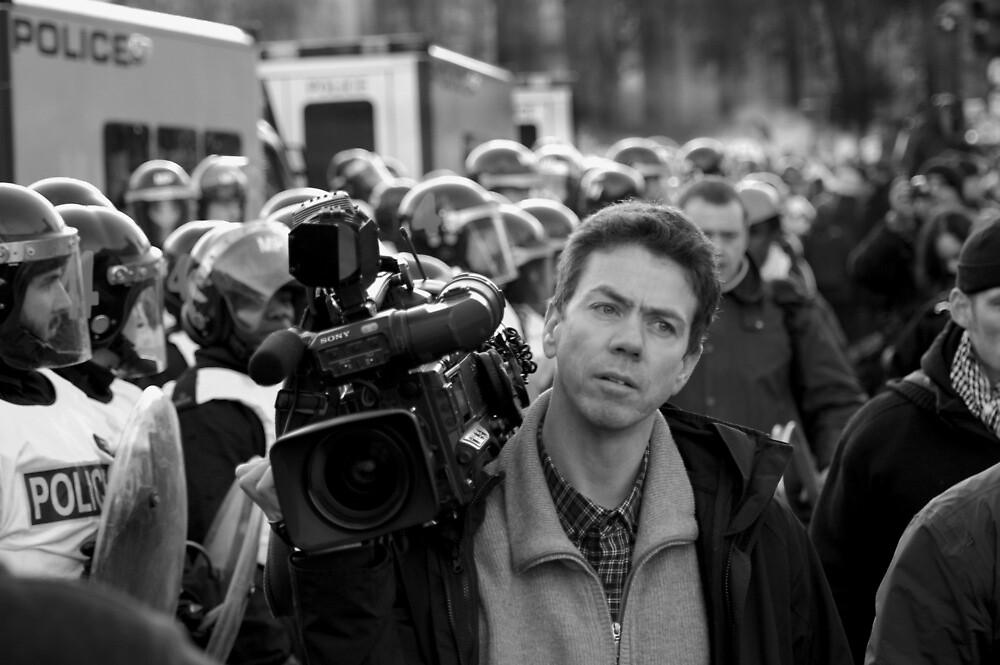 Student Riots London 9-12-10 by Richard Fox