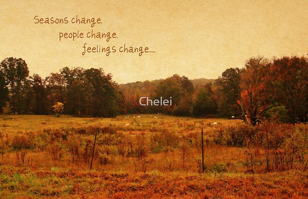Seasons Change by Chelei
