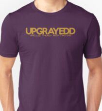UPGRAYEDD - Spelled thusly - Gold T-Shirt