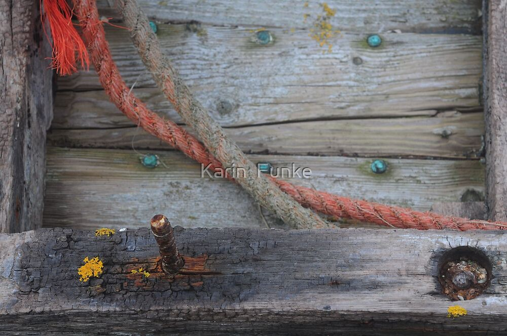 Detail on Ship Wreck by Karin  Funke