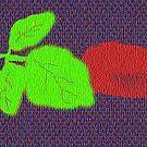 Red Rose Bud by Linda Miller Gesualdo