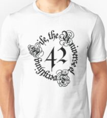 Life, the Universe and Everything, version 1.0 Unisex T-Shirt