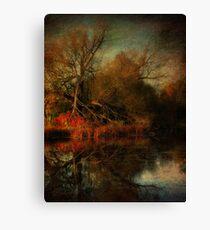 Autumn's Decay Canvas Print
