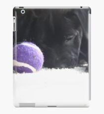 black lab puppy  iPad Case/Skin