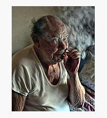 Smokin' Photographic Print