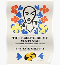 Henri Matisse - Exhibition poster advertising an art exhibition at the Tate Gallery in London, 1953 Poster