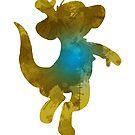 Känguru inspirierte Silhouette von InspiredShadows