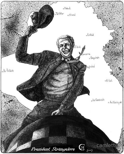 President Strangelove by Cameron Hampton