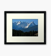Beautiful Trapper Peak Framed Print