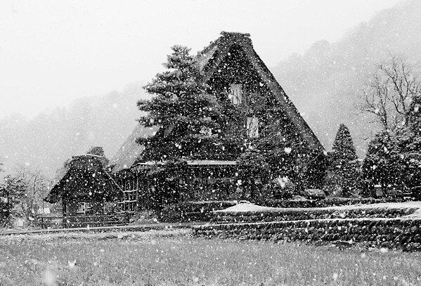 Beautiful Snow Japanese Village(2),Sirakawago by yoshiaki nagashima