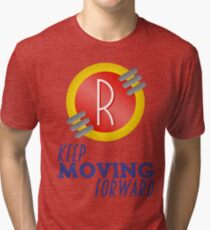 Keep Moving Forward - Meet the Robinsons Tri-blend T-Shirt