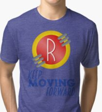 Keep Moving Forward - Meet the Robinsons Tri-blend T-Shirt
