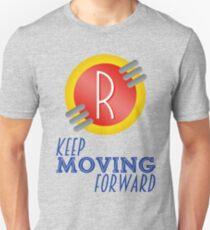 Keep Moving Forward - Meet the Robinsons Slim Fit T-Shirt