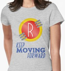Keep Moving Forward - Meet the Robinsons Women's Fitted T-Shirt