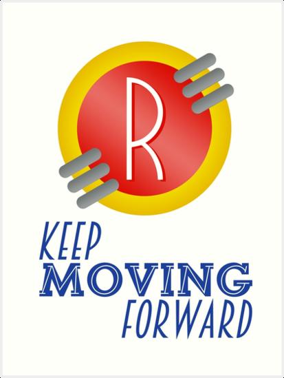 Keep Moving Forward Meet The Robinsons Art Prints By Tsum Tsum