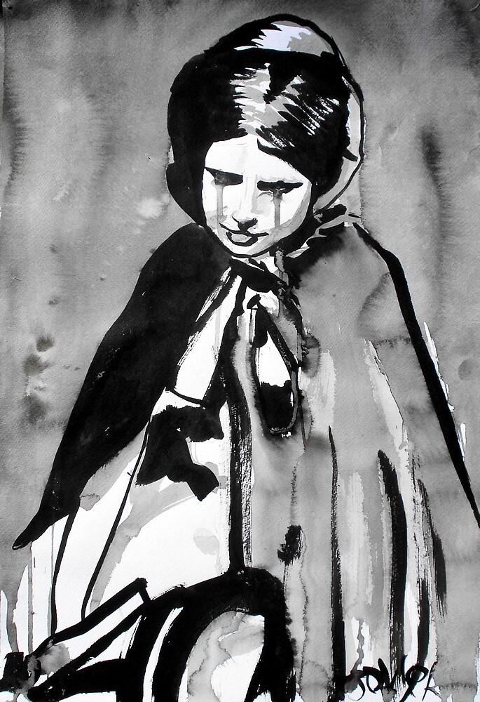 the milk maid by Loui  Jover