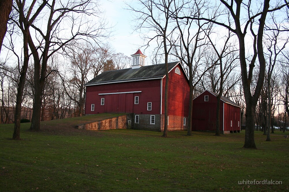 Tinicum Town Barn by whitefordfalcon