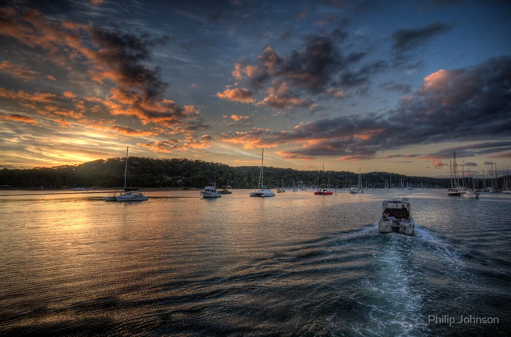 Into The Light - Newport, Sydney - The HDR Experience by Philip Johnson