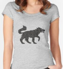 Direwolf Women's Fitted Scoop T-Shirt