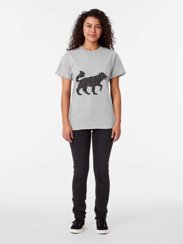 Alternate view of Direwolf Classic T-Shirt