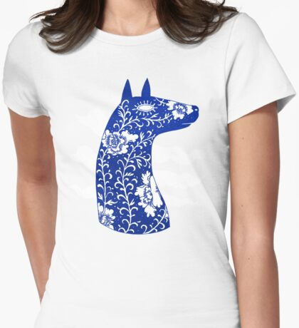 The Water Horse in Blue and White T-Shirt