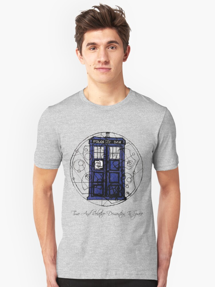 Time And Relative Demention In Space Unisex T-Shirt Front