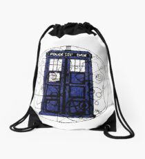 Time And Relative Demention In Space Drawstring Bag