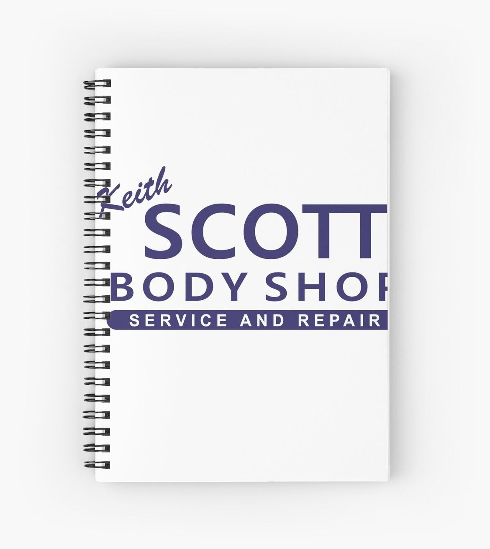 One Tree Hill - Keith Scott Body Shop by 23connieyu