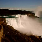 Majestic Niagara Falls by Malinee Ganahl
