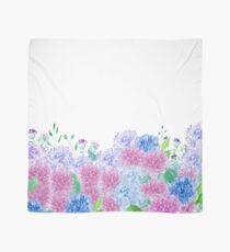 The Beauty Of Hydrangeas Watercolor Scarf