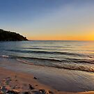 Sunset on Old Silver Beach by thesunsetkid