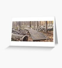 Sourland Mountain Trails Greeting Card