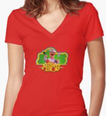 Chef Muppets Women's Fitted V-Neck T-Shirt