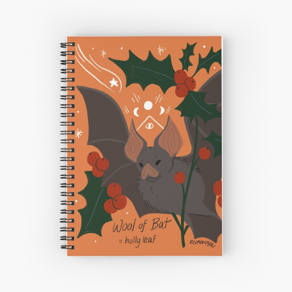 Witch's Brew: Wool of Bat Spiral Notebook