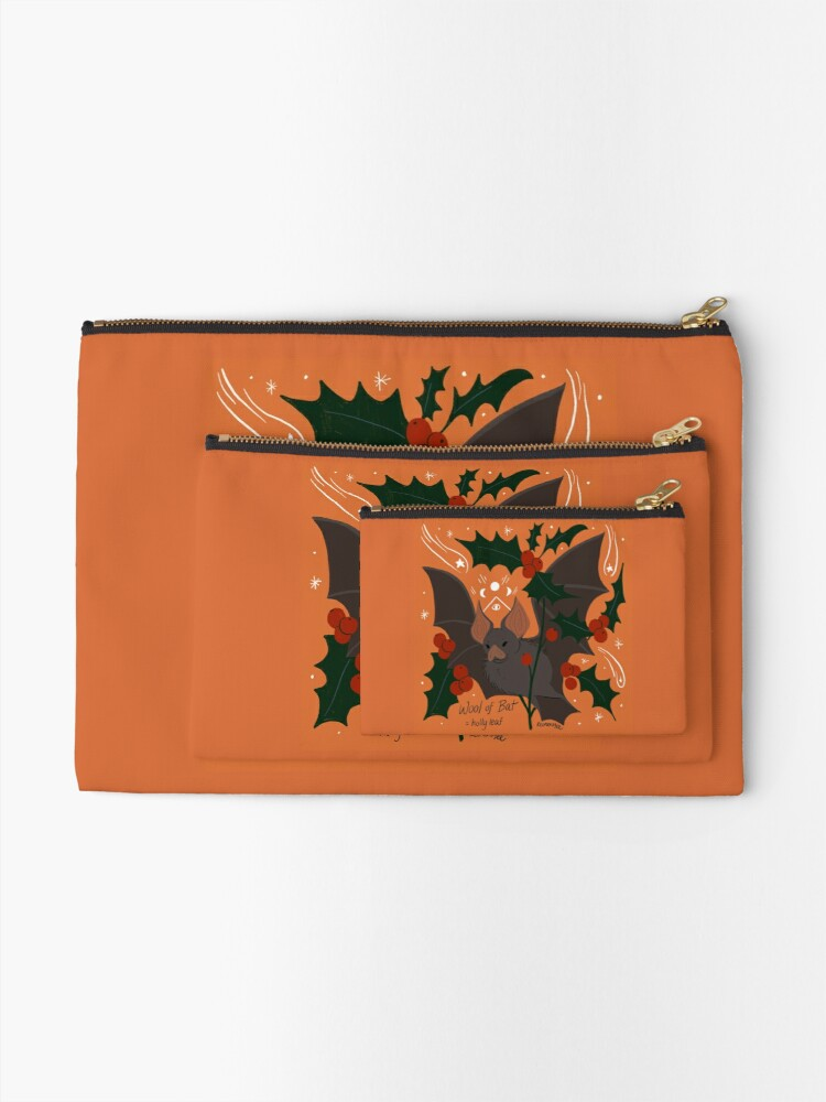 Alternate view of Witch's Brew: Wool of Bat Zipper Pouch