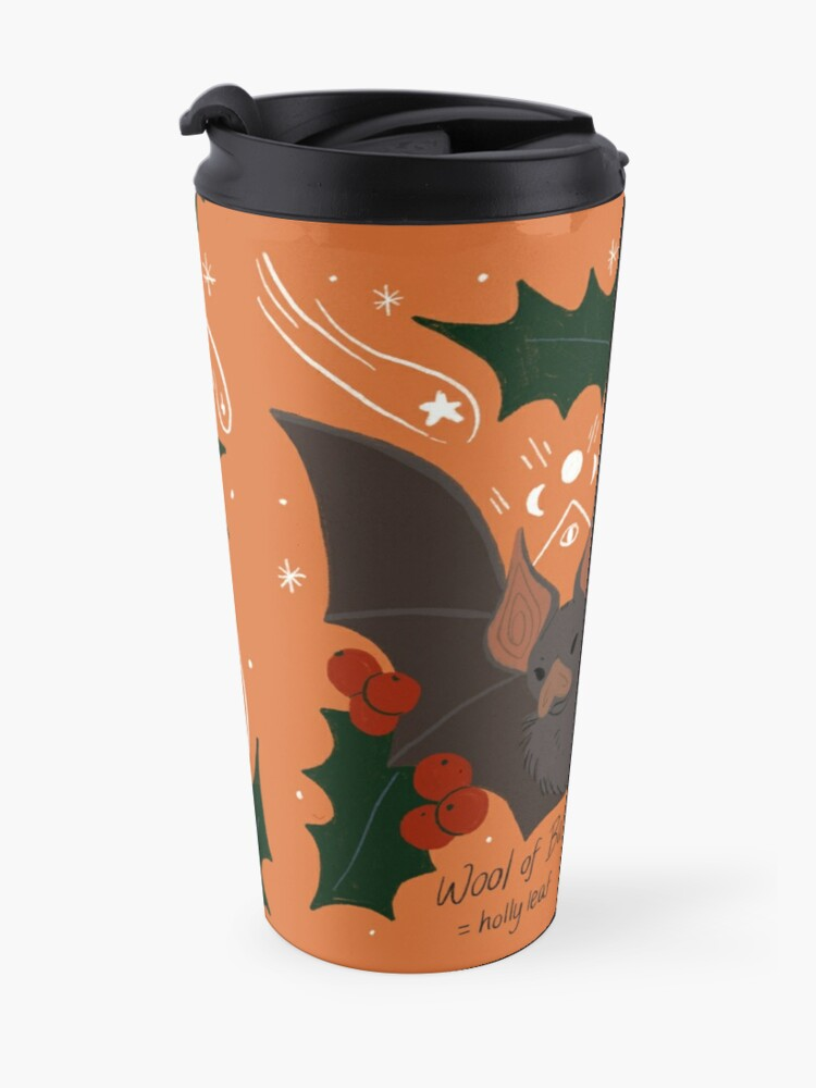 Alternate view of Witch's Brew: Wool of Bat Travel Mug