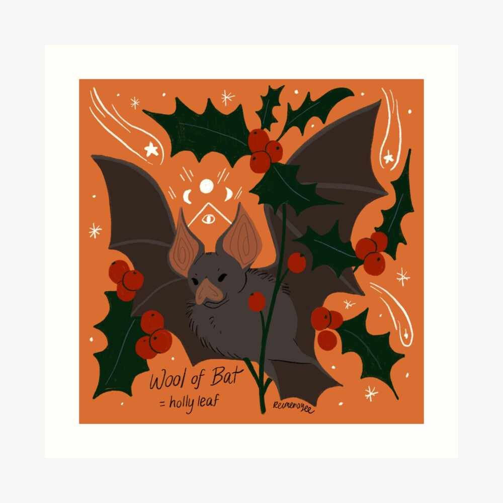Witch's Brew: Wool of Bat Art Print