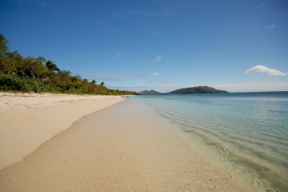 Blue Lagoon - Fiji by victoria  tansley
