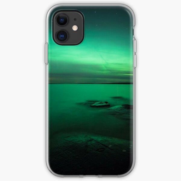 Mystic northern lights glow iPhone Soft Case