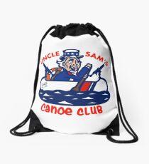 Uncle Sam's Canoe Club - Full Logo Drawstring Bag